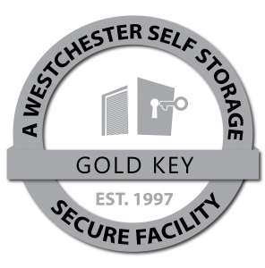 Ossining Self Storage a Westchester Self Storage facility grey logo