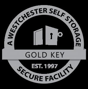 Ossining Self Storage a Westchester Self Storage facility grey logo