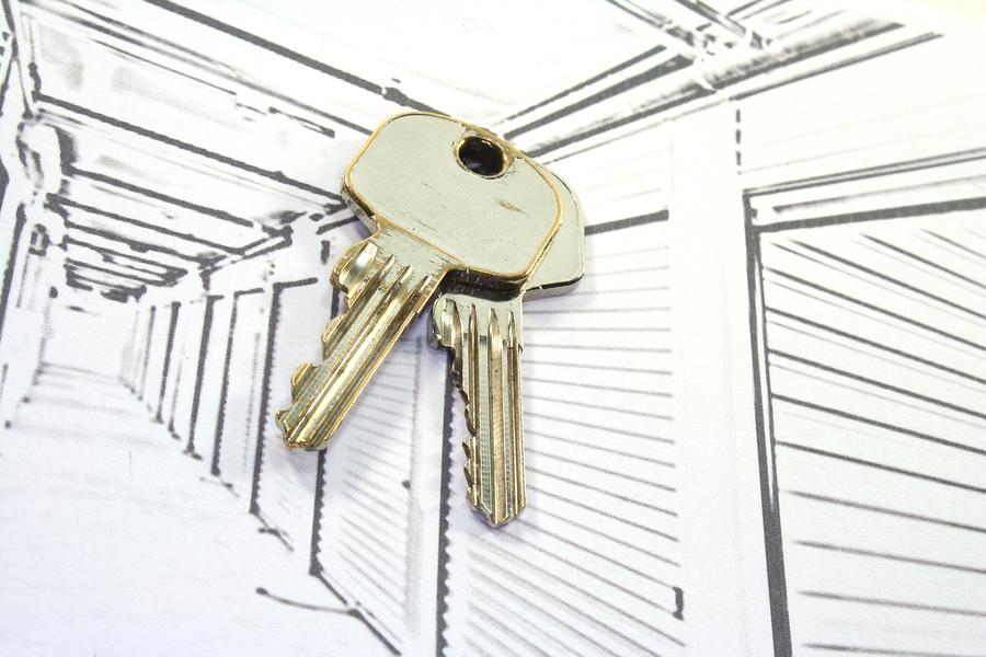 storage units tenant only access illustration of keys over storage units